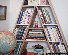 25 estantes criativas para guardar seus livros