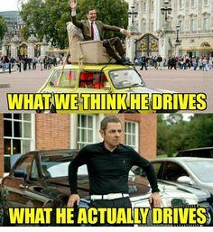 Mr. Bean's Car