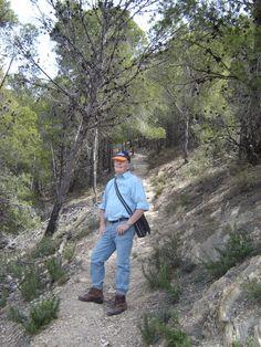 A walk in the Sierra de Gádor (Almería) on 14 March 2007