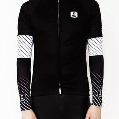 Striped arm warmers. #cycling #cyclingapparel #stripes