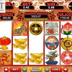 Bengal Tiger is a login slot game.It's a 5 reel 243 payline login slot machine.If you like login slot game, you can not miss this Free Credit, Orient Express, Bengal Tiger, Slot Machine, Adventure, Play, Games, Big, Gaming