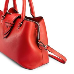 Borsa a mano in similpelle bata, rosso, 961-5216 - 15