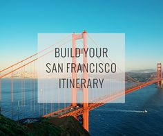 Set your dates, pace and interests, and our San Francisco Travel Guide recommend an itinerary of top attractions organized to reduce traveling around plus a map to help direct you.