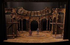 Morgan Large - The Last Horseman. National Theatre of Spain. Set Theatre, Set Design Theatre, Stage Set Design, National Theatre, Scenic Design, Animal Design, Design Model, Scale Models, Architecture Art