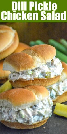 Dill Pickle Chicken Salad - 4 Sons 'R' Us