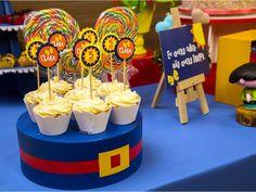 Porta doces inspirado na roupinha da Luna. Toppers para doces personalizados vendidos separadamente.