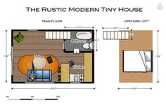 The Rustic Modern Tiny House - Get $25 credit with Airbnb if you sign up with this link http://www.airbnb.com/c/groberts22