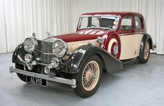 1937 Speed 25 Saloon by Charlesworth