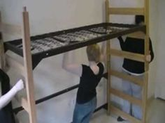 Want to save yourself from getting an improper check out fee? Here's how to properly loft your bed at the 55th Street Residence Hall at Marymount Manhattan College.