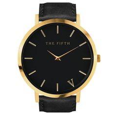 New Listing designer luxury Leather Quartz Movement Simplicity Classic Women Watch Dress Men Sports Famous Brand Watch THE FIFTH