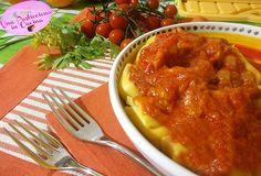 Ravioli+ai+Funghi+con+Sugo+e+Pancetta