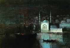 Ayvazovskiy, Constantinople 1886
