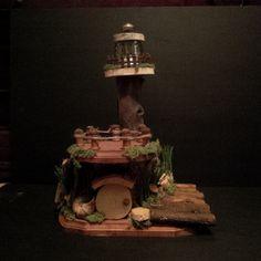 OOAK Fairy House: Light House by BirchTreeFairyHouses on Etsy