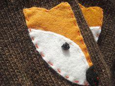 VALENTINE'S DAY GIFT Fox Gloves Brown Gloves by talkingloves…