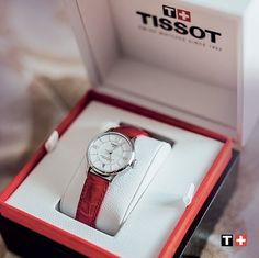 Tissot Chemin des Tourelles Automatic Lady - the perfect gift for every woman! #mazzucchellis #jeweller #jewellery #Tissot #red #SwissWatch #Fashion #MyTissot #ThisisyourTime #Fashion #Lifestyle #TissotMoment #watch #Switzerland #classic #chic #automatic #womenswatches