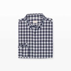 CLUB MONACO Slim Check Shirt. #clubmonaco #cloth #all