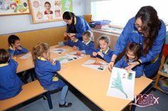 P5 #InfantilISP realizan semanalmente clases de plástica en las que aprenden a trabajar con diferentes técnicas. En la última clase tuvieron que pintar un dinosaurio y además, coser el perfil del animal con aguja y lana. #InteligenciaArtísticaISP #InteligenciasMúltiples