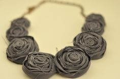 necklace by Allora Handmade - the BEST at rosettes