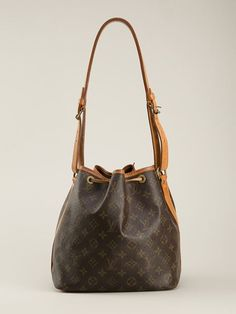 Louis Vuitton Vintage Monogram Petite Bucket Bag
