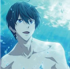 "aitaikimochi: "" matsuoka-lin: "" This track plays during the hotel scene in Free! Eternal Summer episode and it's called ""Feel My Heart"" "" this song apparently also plays when Rin appoints Nitori. Haruka Nanase, Makoharu, Got Anime, Hot Anime Guys, Anime Boys, Roy Mustang, Haikyuu, Makoto, Splash Free"