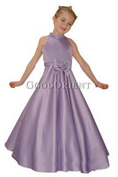 Purple Flower Girl Dress picked by selin  eww but this is what she is willing to wear ugh