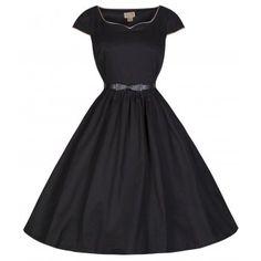 'Tara' Eye-Catching Audrey Hepburn 50's Vintage Inspired Swing Dress