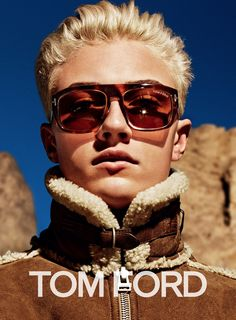 Lucky Blue Smith in the Tom Ford Fall Winter 2015 Ad Campaign