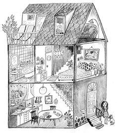 Bruna Vieira illustration by Emmi Jormalainen. Illustrator, February, Illustration Art, Instagram, Illustrators