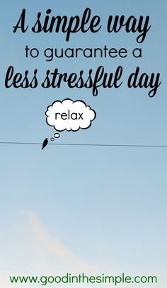 """THE """"STRESS LESS"""" CHALLENGE: LEAVE 15 MINUTES EARLIER THAN YOU THINK YOU SHOULD - Good + Simple"""