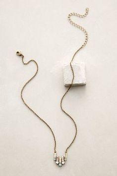 WE ♥ THIS!  ----------------------------- Original Pin Caption: Sorrelli Deco Tilt Necklace #anthrofave