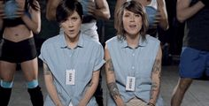 …sometimes they switch it up. | Tegan And Sara's Hairstyle Evolution