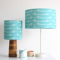 bristol suspension bridge lampshade by sophie richardson | notonthehighstreet.com