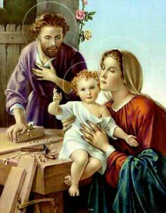 The Holy Family, pray for us...