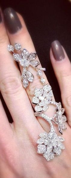 Blossom Flower Ring from David Morris Jewellery -- 35 Pieces of Gorgeous Jewelry @styleestate