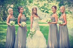 Best ideas for Bride and bridesmaids, posted on February 6, 2014 in Bridesmaid Dresses
