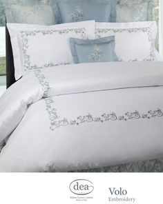 Can your nightly 8 hours of sleep be as beautiful as they are comfortable? Yes, they can. Visit Dea Italian Luxury Linens