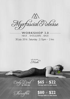 Myofascial Release Workshop - Neck, Shoulders & Back - Meraki