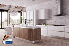 042 Zeluso Super Matt Handle-Less matt kitchen Dark Wood Kitchens, Black Kitchens, Fitted Kitchens, Modern Kitchens, Kitchen Black, Custom Kitchens, Luxury Kitchens, Contemporary Kitchen Design, Interior Design Kitchen