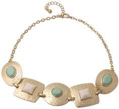 Necklace - Statement mint - Bijou Brigitte Online Shop NL