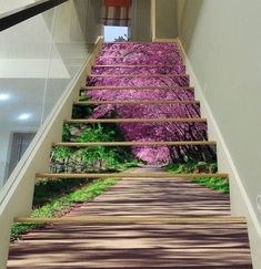35 Amazing Stairs Design Idea Try In Your House Staircase Wall Decor, Stair Art, Modern Staircase, Staircase Design, Marble Stairs, Concrete Stairs, Finishing Stairs, Basement Movie Room, Decoration Photo