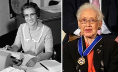 NASA mathematician Katherine Johnson Nasa Langley, Katherine Johnson, Coloured People, Hidden Figures, Forgetting The Past, Mathematicians, Math Education, Old Shows, Important People