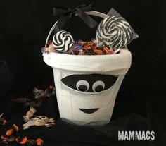 Secchiello porta dolcetti di Halloween