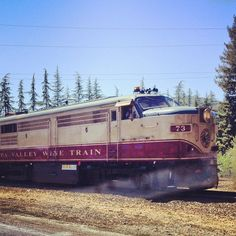Photo by via Napa Valley Wine Train, Wineries, California, Instagram Posts, Wine Cellars