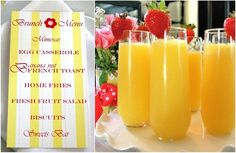 ideas for brunch baby shower - Google Search