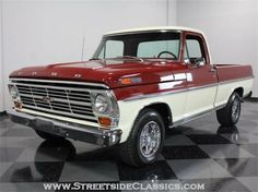 1967 Ford Ranger F100 - This was my first truck.  Good Times!