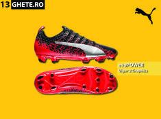 Create special pentru terenurile tari cu iarbă naturală, ghetele Puma evoPOWER Vigor 2 Graphic FG te aduc și mai aproape de minge pentru a avea mai multă putere și precizie.  #ghetefotbal #puma #pumaevopower #evopower #evopowervigor #vigor2 #pumafootball #pumafotbal Puma Football, Mai, Cleats, Shoes, Fashion, Football Boots, Moda, Zapatos, Cleats Shoes