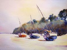 Peintre autodidacte aquarelliste du Pays Basque depuis fin 1998, membre de la…