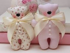 Image result for shabby chic bears