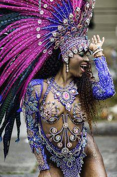 Brazilian Carnival Costumes, Carribean Carnival Costumes, Trinidad Carnival, Caribbean Carnival, Trinidad Caribbean, Carnival Fashion, Carnival Girl, Carnival Outfits, Carnival Makeup
