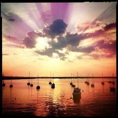 Gotta Love sunsets in Dublin! http://barnacles.ie/